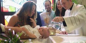 O Batismo de Jesus e o Batismo de crianças