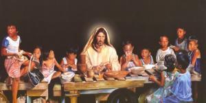 A salvação integral e comunitária oferecida por Jesus acontece na história