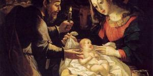 Celebração de Natal em família