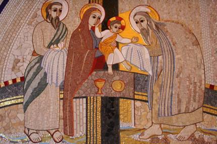 Apresentação de Jesus no tempo - Rupnik