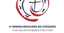 A Logomarca da 4ª Semana Brasileira de Catequese