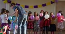 Não deixe o balão cair